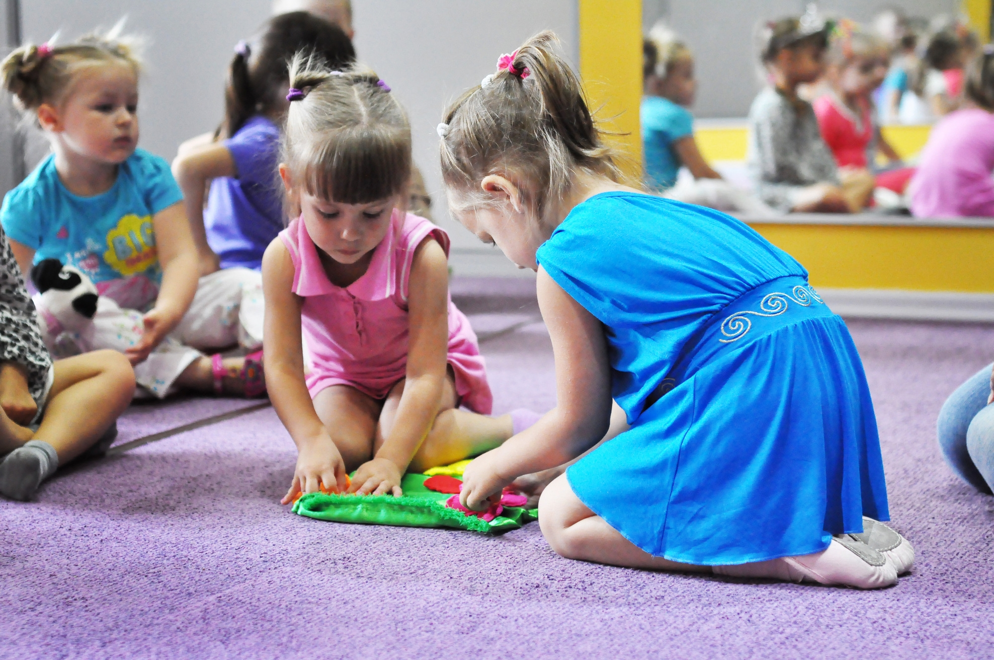 Как отдать ребенка в садик
