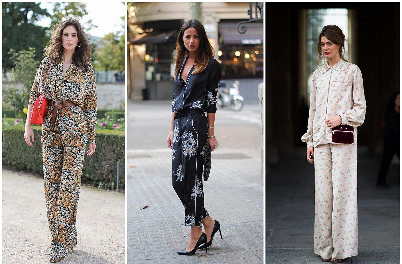 Пижамный стиль в одежде 2019