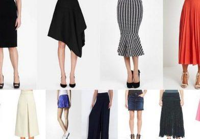 Как выбрать идеальный фасон юбки