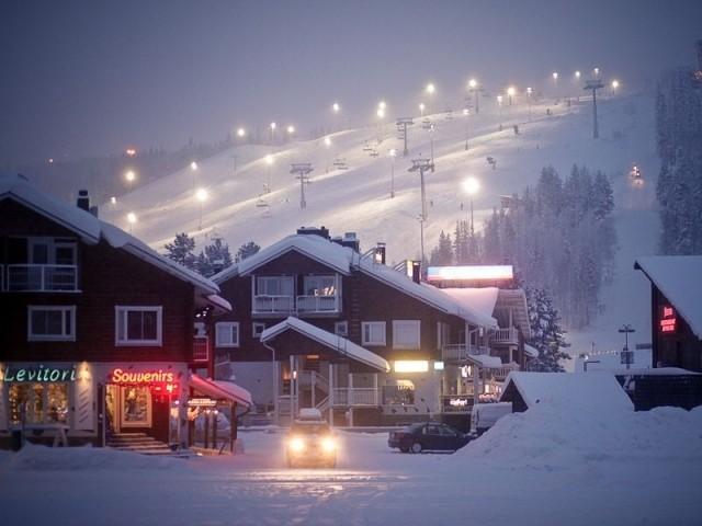 Леви горнолыжный курорт