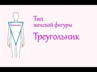 Тип фигуры перевернутый треугольник