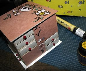 Оригинальный комодик  из спичечных коробков своими руками