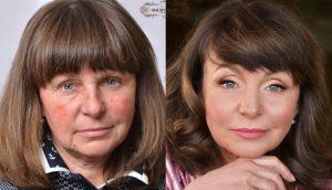 Омолаживающий макияж или макияж, скрывающий годы