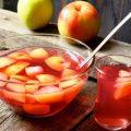 Как сварить компот из яблок