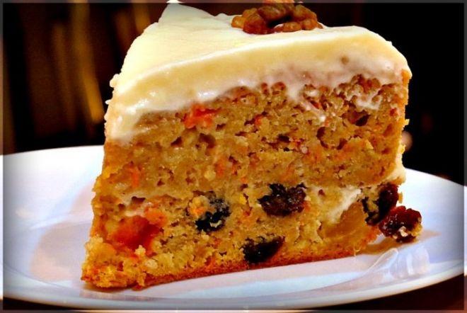 Тыквенный пирог с цукатами и имбирем