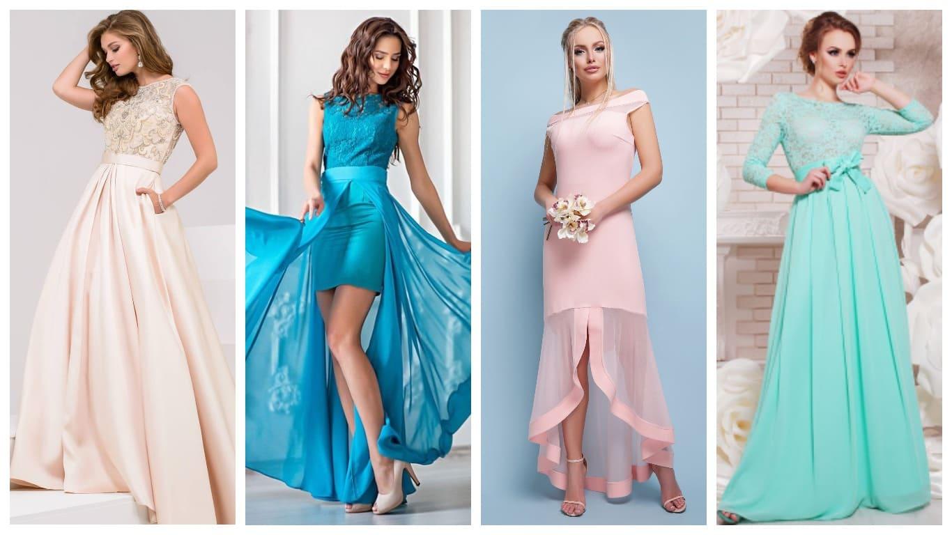 Выпускное модное платье