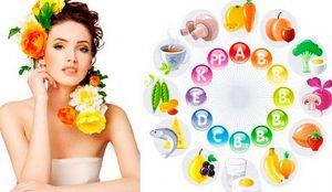 Витамины для красоты и роста волос