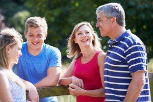 Знакомство с его родителями