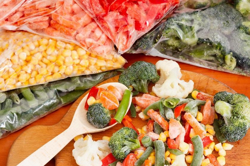 Замороженные продукты питания