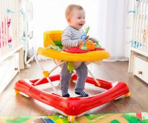 Детские ходунки каталка для малышей: за и против