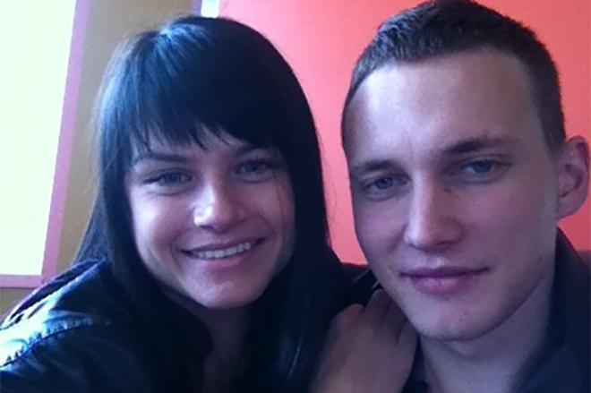 Витольд Петровский с женой