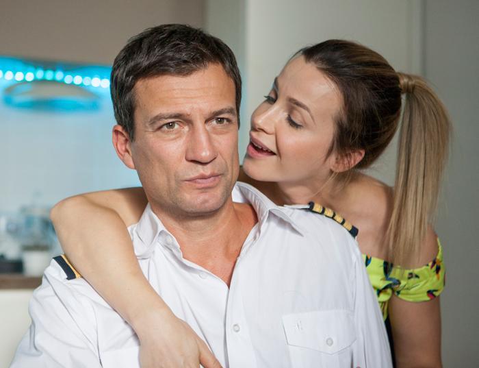 Андрей Чернышов и его жена