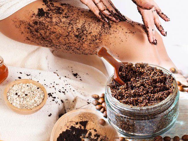 Скраб для тела из кофе