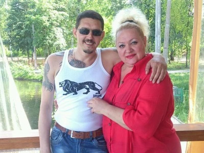 Кобяков Аркадий с женой