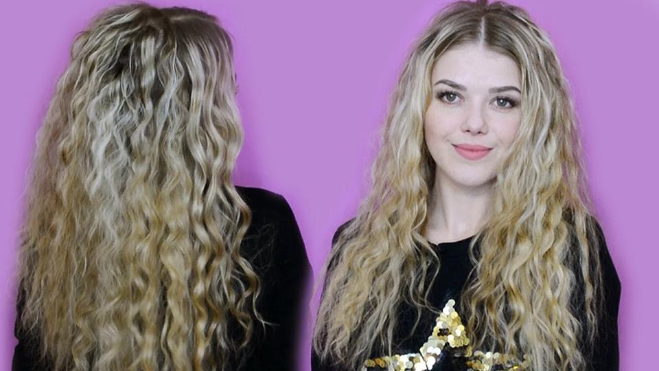 Как сделать волосы волнистыми и кудрявыми