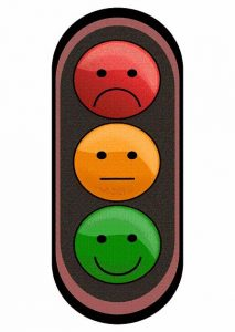 Как научить ребенка не ходить на красный свет светофора