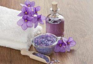 Масло фиалки в косметологии и медицине