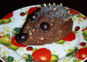 Сладкий ёжик: кулинарный рецепт с фото
