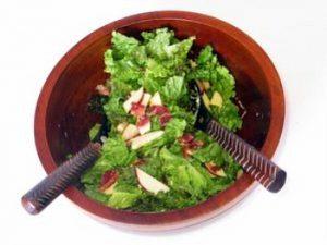 Рецепт: Салат из яблока с индейкой