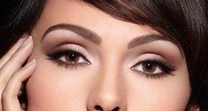 Каким должен быть дневной макияж для карих глаз