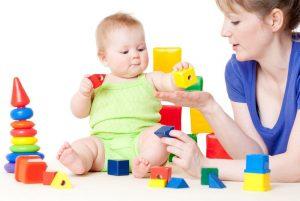 Развивающие игры для детей 1 года — варианты