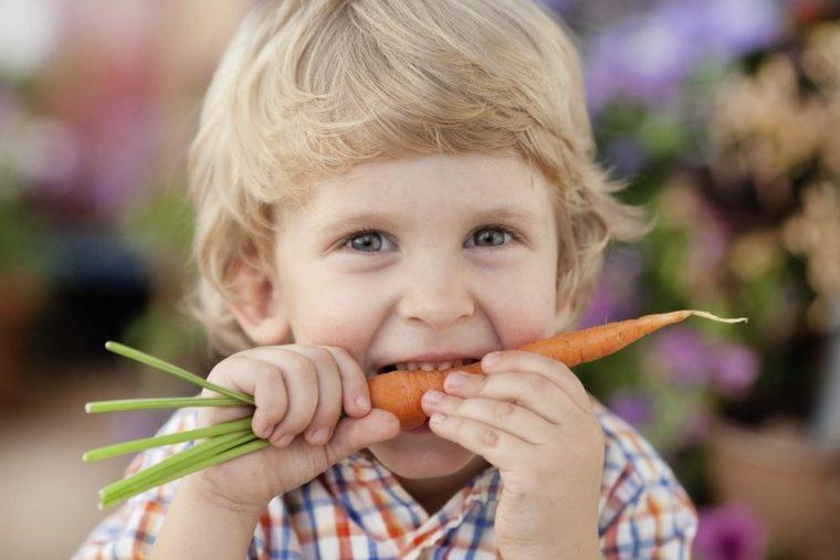 Зависимость детей от еды