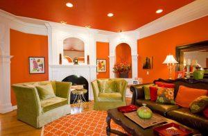Влияние оранжевого цвета в создании позитивного настроения