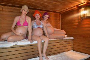 Баня для беременных не вредна при нормальном течении беременности