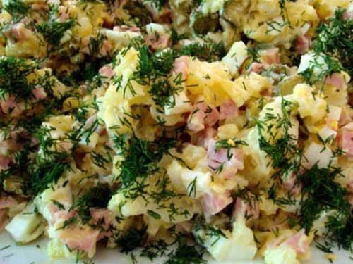 Грибной салат