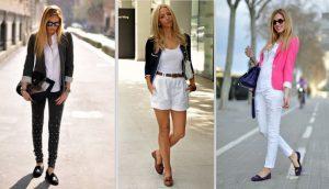 С чем носить женские лоферы: фото креативных образов