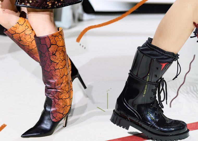 Модная женская зимняя обувь сезона 2021-2022: модный креатив
