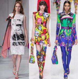 Модный яркий принт для весенне-летнего сезона 2021-2022