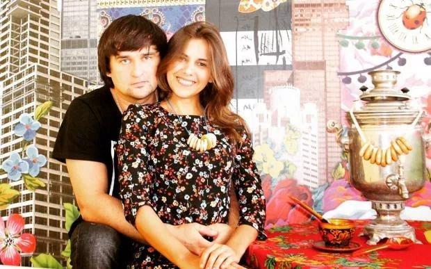 Котлов с женой
