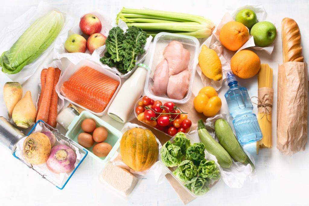 Органические элементы и наша еда