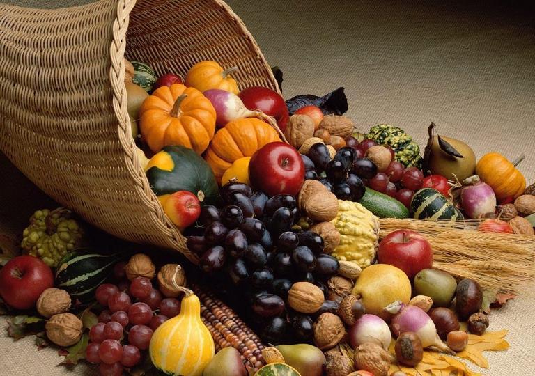 Сколько съедать овощей осенью