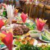 Как выбрать простое меню на свадьбу