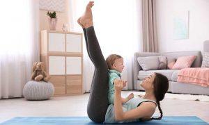 Уход за ребенком равносилен тренировке