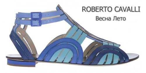 Балетки гладиаторы Roberto Cavalli
