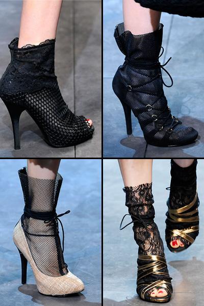 Модная обувь Весна-Лето - Коллекция D&G