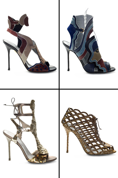 Модная обувь Весна-Лето - Коллекция Sergio Rossi