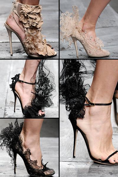 Модная обувь Весна-Лето - Коллекция Valentino