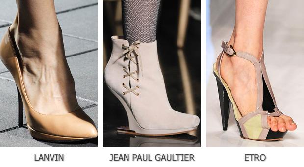 Пастельные оттенки для обуви
