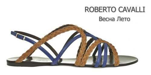 Roberto Cavalli балетки