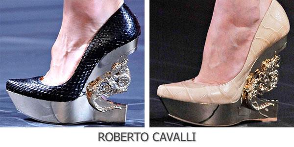 Roberto Cavalli обувь весна лето